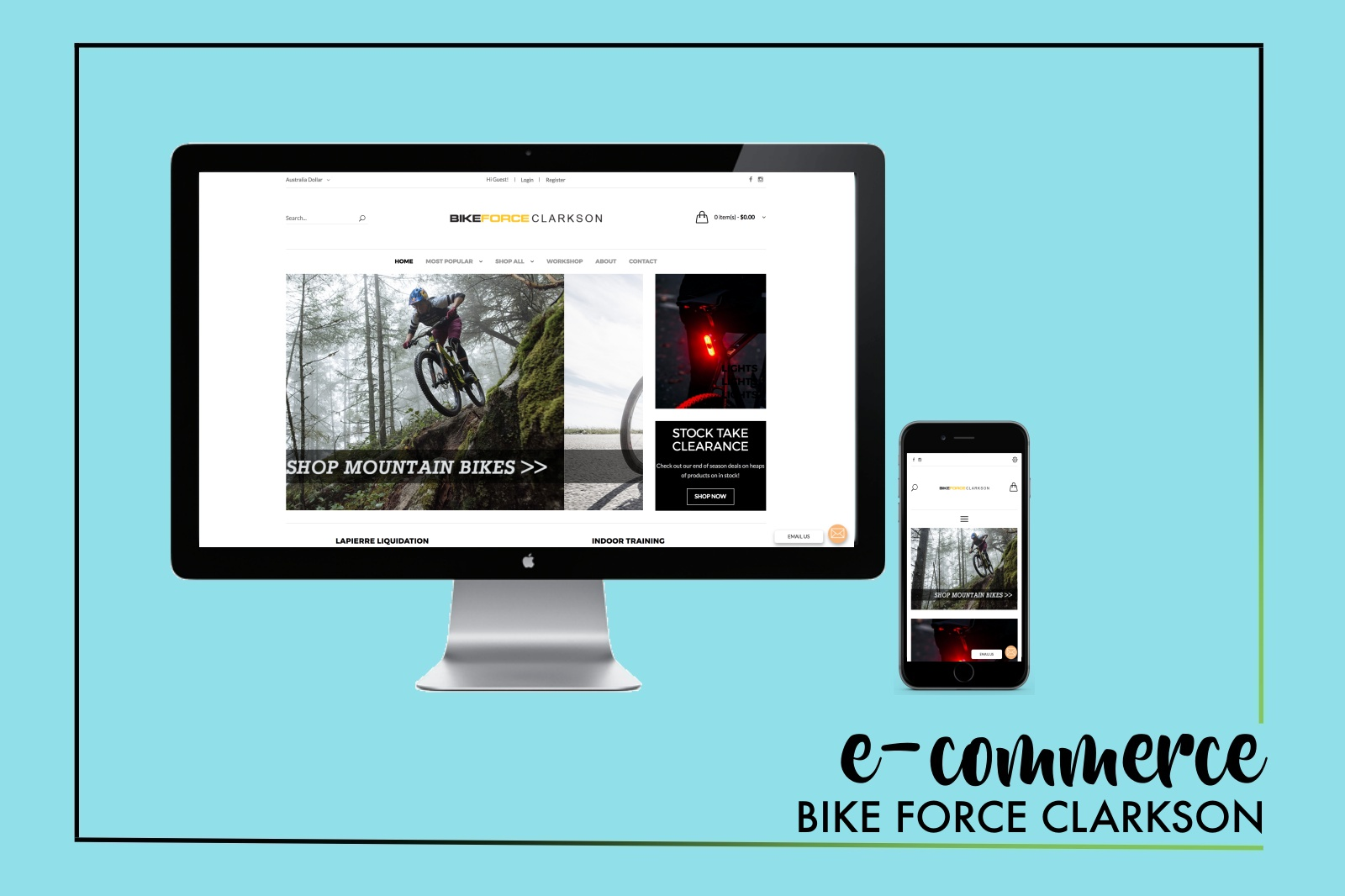 BFC E-COMMERCE WEBSITE