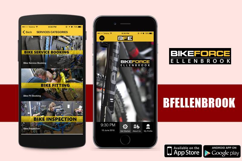 Bike Force Ellenbrook Mobile  App