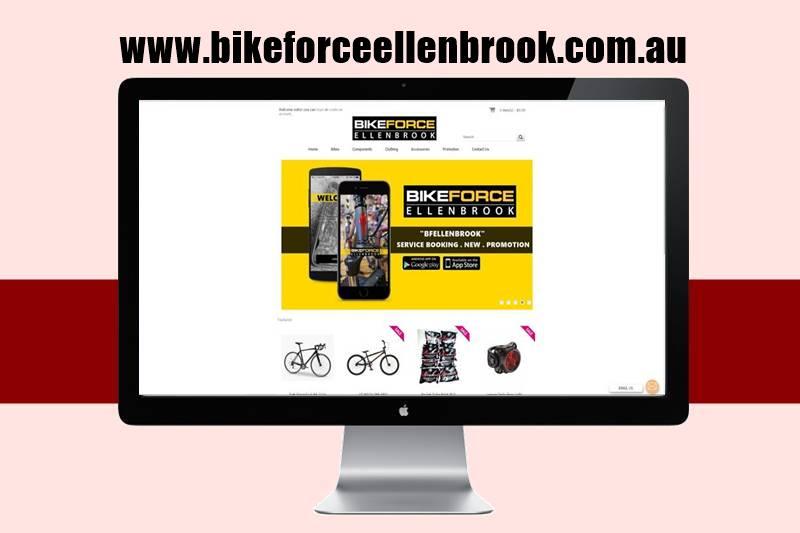 Bike Force Ellenbrook Website