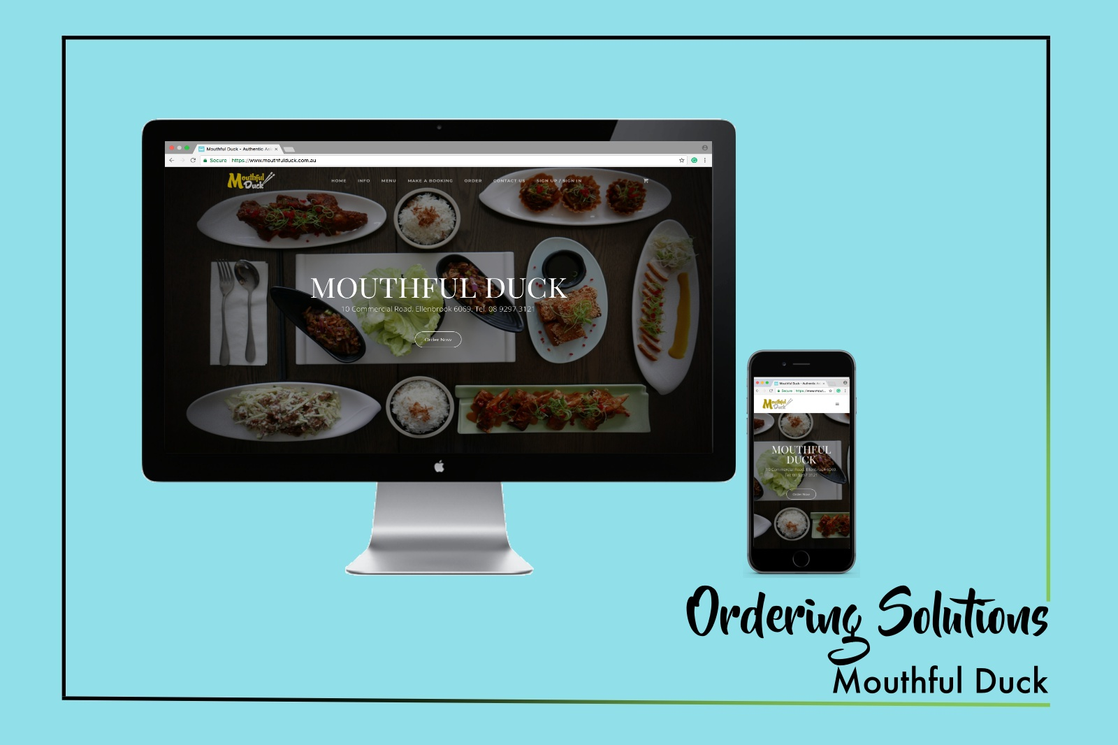 MOUTHFUL DUCK WEBSITE